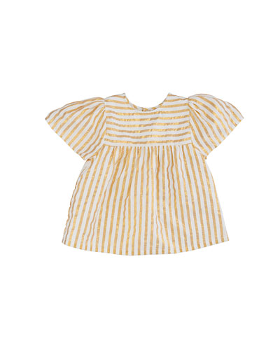 Asha Metallic Stripe Top, Size 4-6