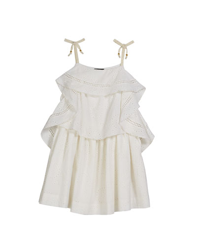 Lois Princess Frill Dress, Size 8-10