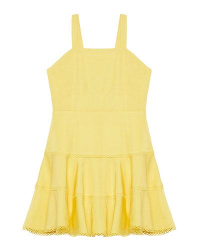 Priano Tiered Sleeveless Dress, Size 8-16