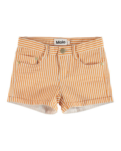 Audrey Striped Shorts, Size 4-14