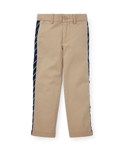 Warm Up Snap Sides Pants, Size 5-7