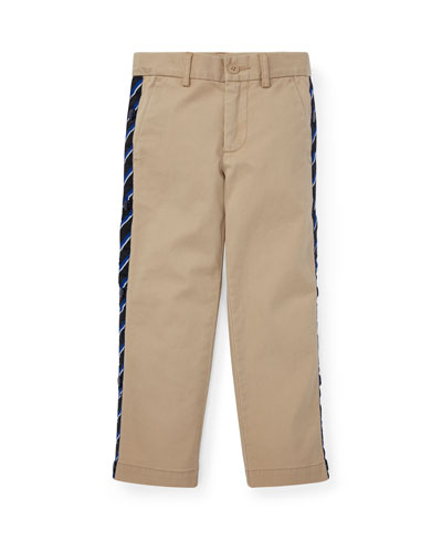 Warm Up Snap Sides Pants, Size 2-4