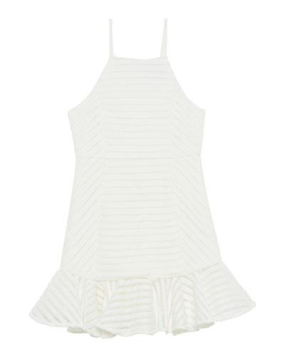 Piper Eyelet Sleeveless Dress, Size 8-16