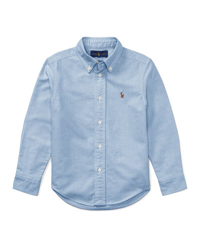 Oxford Sport Shirt, Size 2-4