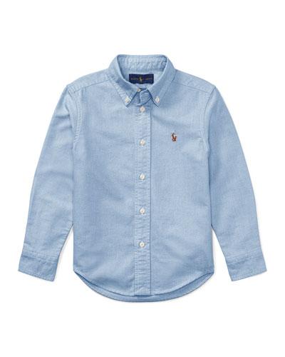 Oxford Sport Shirt, Size 4-7