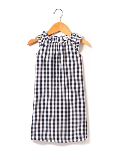Amelie Gingham Nightgown, Size 6M-14
