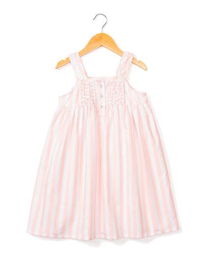adb74827d15e Charlotte Modern Stripe Nightgown, Size 6M-14