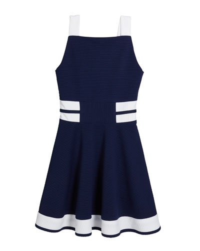 The Bridget Colorblock Fit-and-Flare Dress, Size S-XL