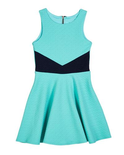 The Lily Knit Jacquard Dress, Size S-XL