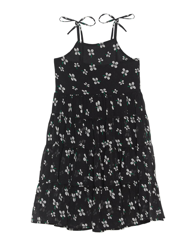 Flo Tiered Tie-Shoulder Dress