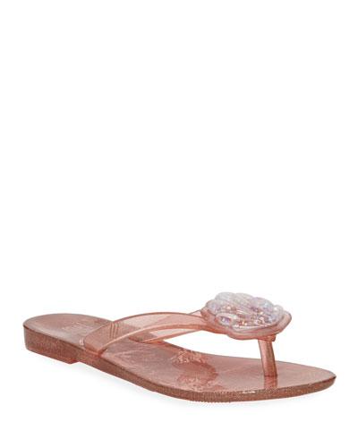 Harmonic V Seashell Thong Sandal, Toddler/Kids