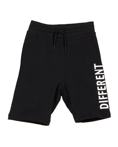 Aliases Different Together Sweat Shorts, Size 4-12