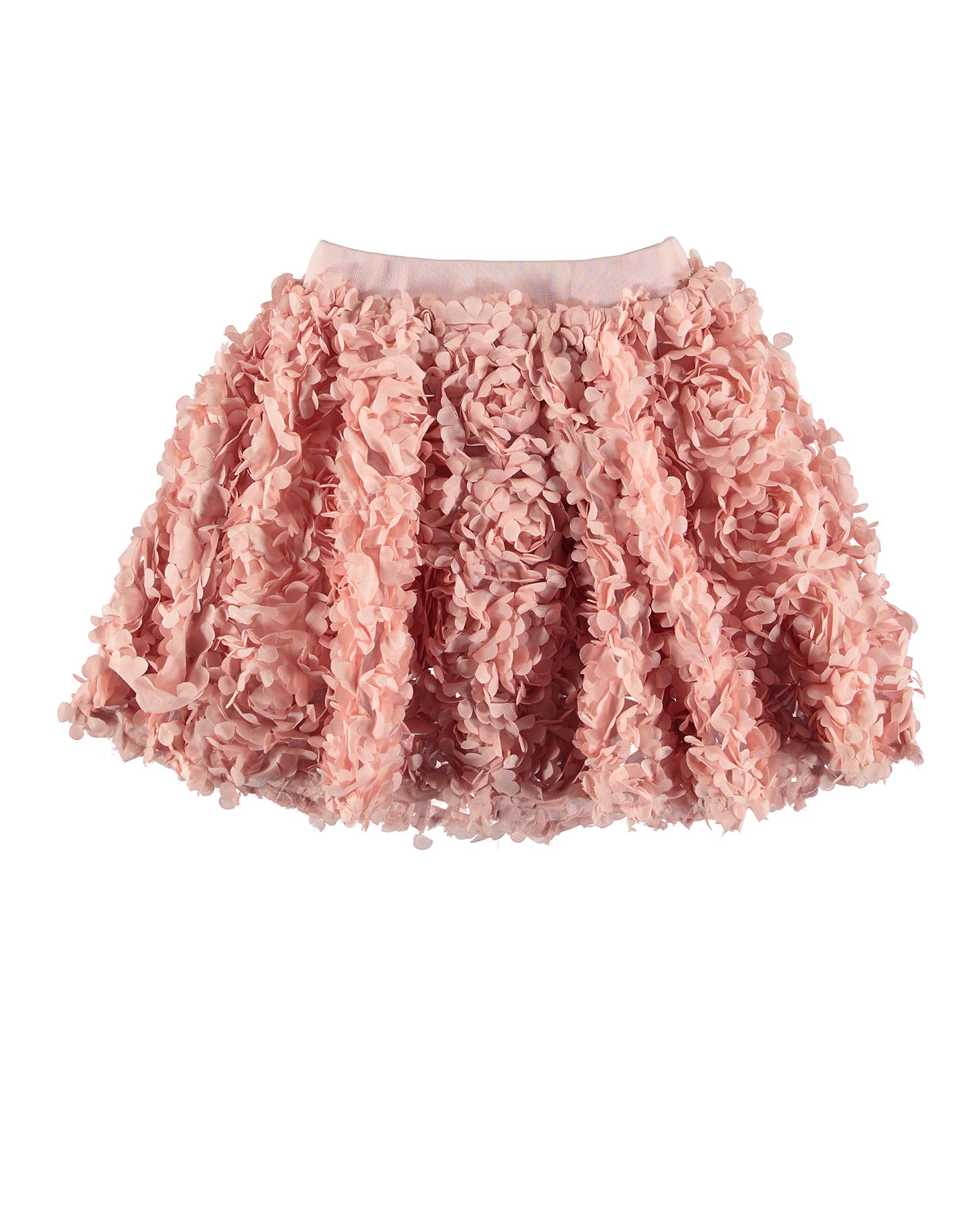 Molo BRICKLY 3D FLORAL APPLIQUE A-LINE SKIRT