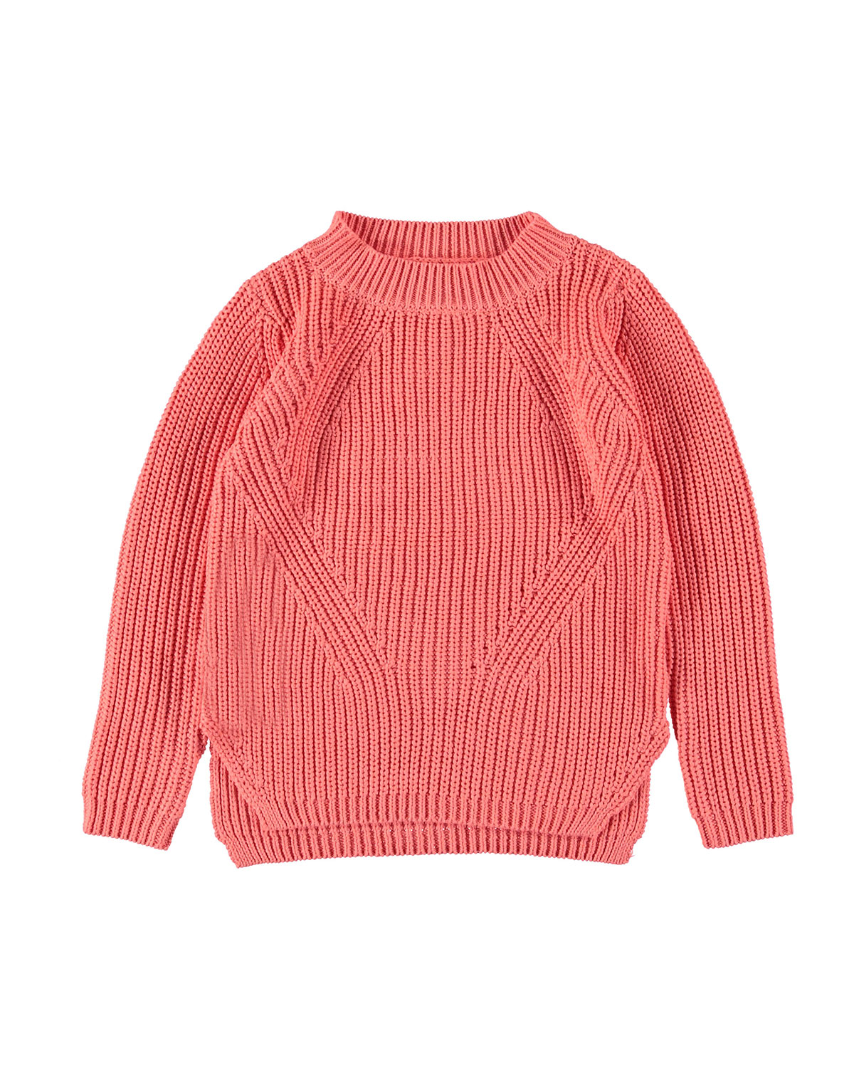 Molo GILLIS MIXED KNIT SPLIT HEM SWEATER