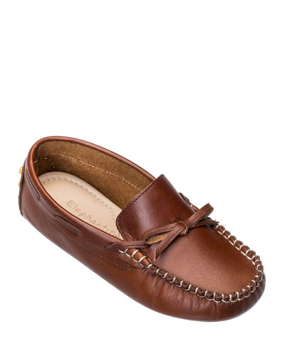 Boys' Leather Driver Loafer, Toddler