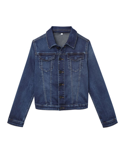 Boys' Manning Denim Jacket, Size 3-6X