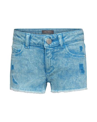 3f97af3c11 Girls' Lucy Distressed Denim Shorts, Size 2-6