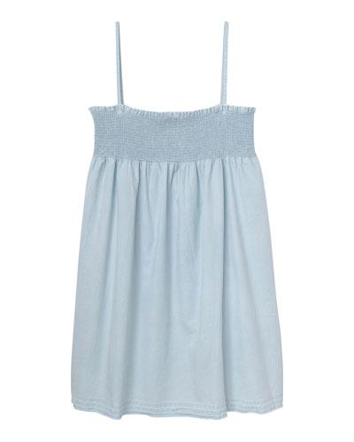 Layla Shirred Tank Dress, Size S-L