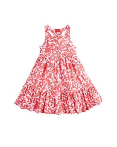 Juno Floral Cotton Dress, Size 3-10