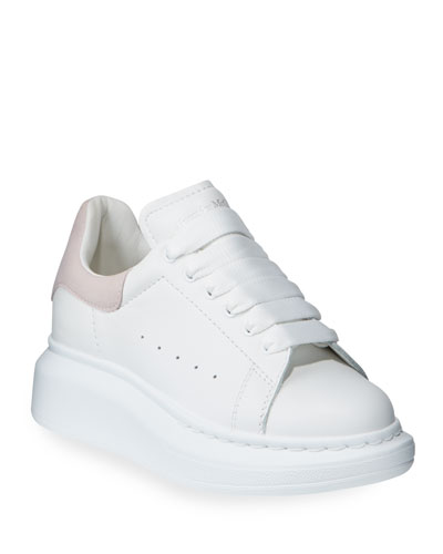 Oversized Leather Sneakers, Toddler/Kids