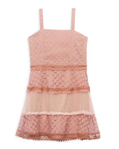 Kristen Multi Lace Dress, Size 8-16