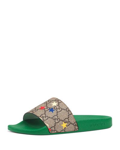 Pursuit Printed Ranch Slide Sandals, Toddler/Kids