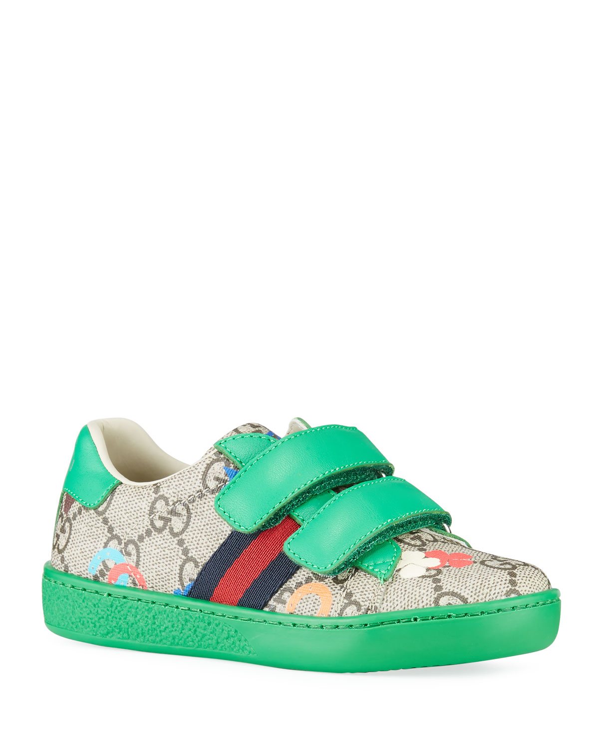 Gucci Sneakers ACE GG RANCH SNEAKERS, BABY/TODDLER