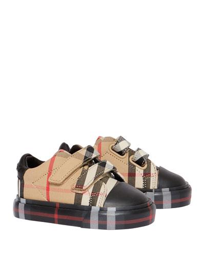 Kid's Mini Markham Check Sneakers, Baby