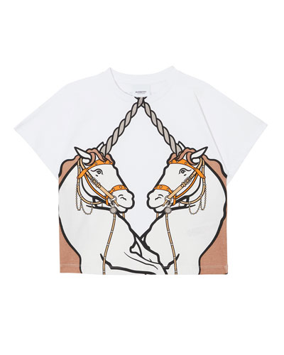 Double Unicorn Graphic Tee, Size 3-14