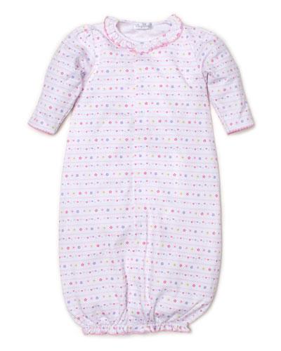 Unicorn Magic Printed Convertible Sleep Gown, Size Newborn-Small