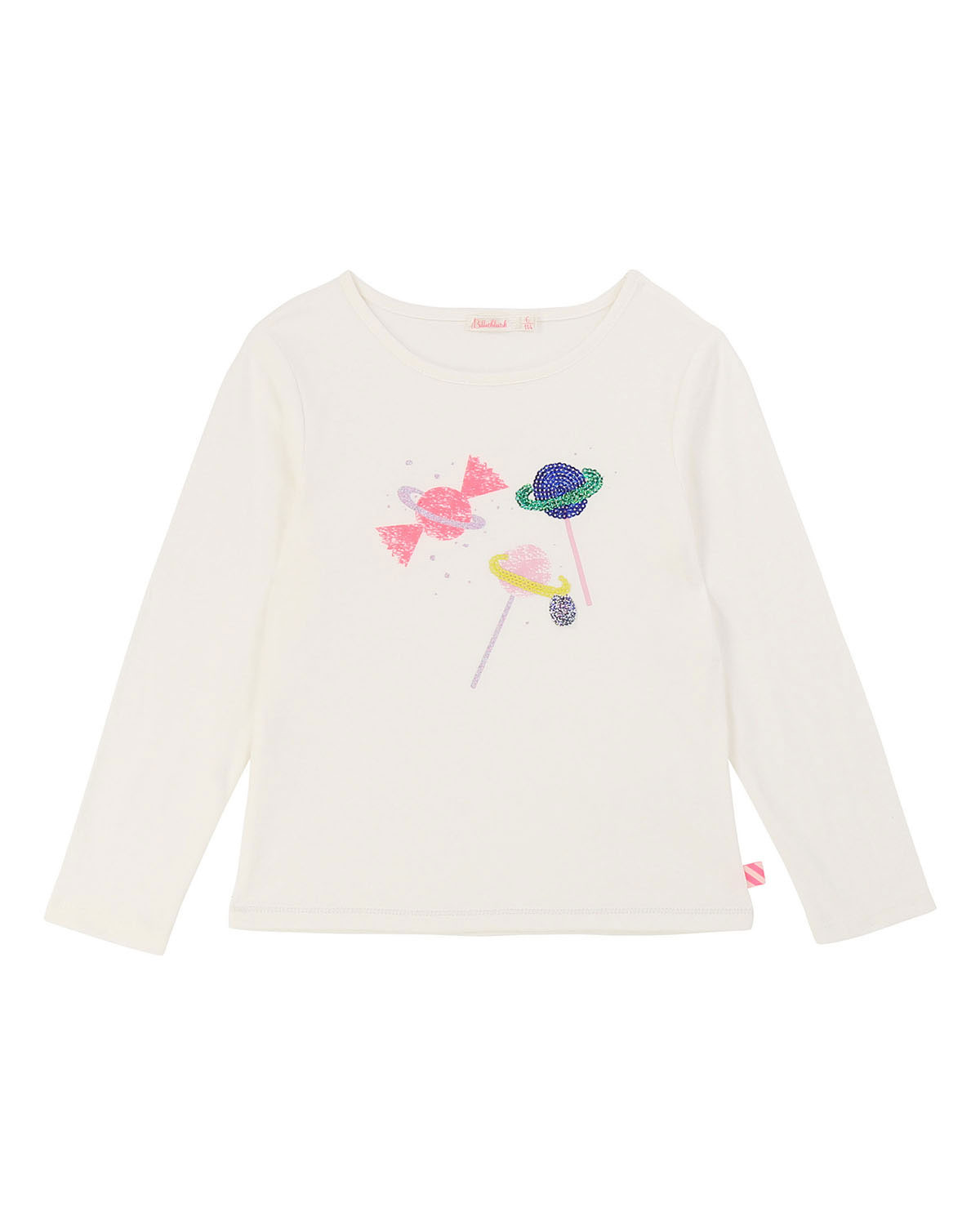 Billieblush SEQUIN SCATTERED CANDY TEE