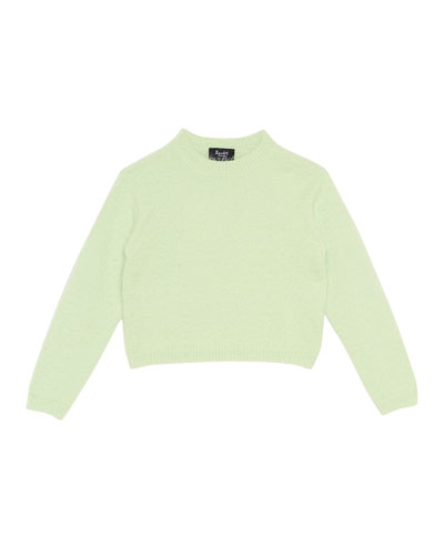 Cropped Sweater, Size 8-16