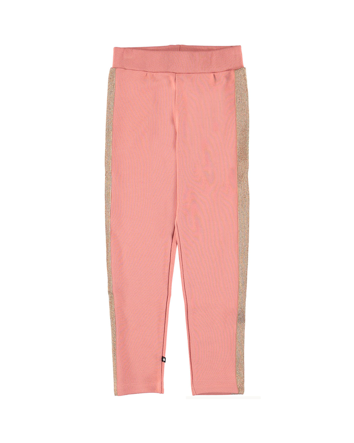 Molo ANTONIA SHIMMER-TRIM SWEATPANTS