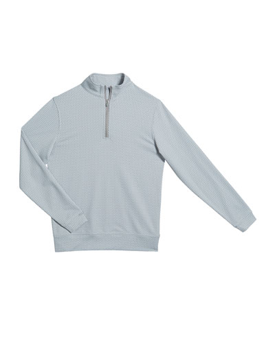 Boy's Perth Quarter-Zip Sweater, Size XS-XL