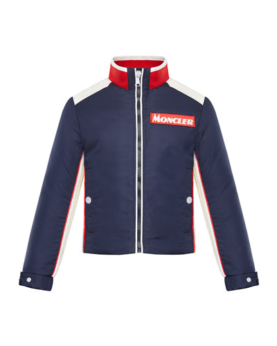 Tricolor Heritage Racer Jacket, Size 8-14