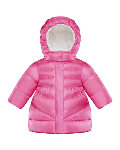 Hooded A-Line Coat, Size 12M-3