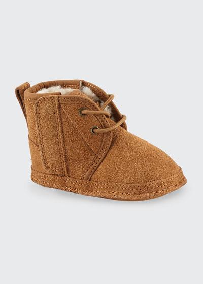 Neumel Suede Boots, Baby/Kids