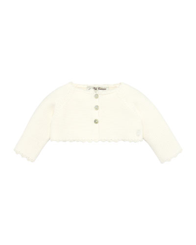 3-Button Knit Cardigan, Size 3-18 Months