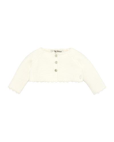 3-Button Knit Cardigan, Size 3-18 Months
