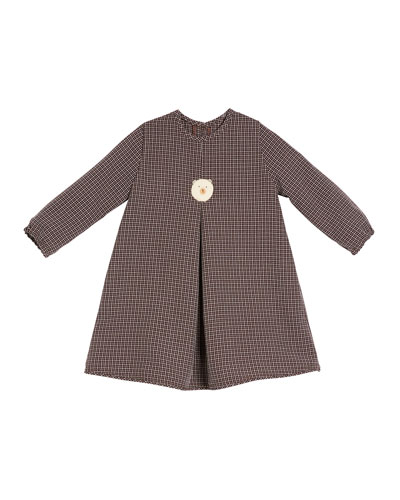 Girls' Felted Bear Dress, Size 2T-6