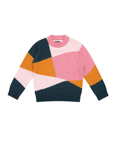 Meredith Colorblock Sweater, Size 8-12