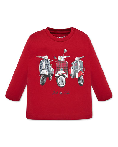 Boy's Mopeds Graphic Tee, Size 12-36 Months