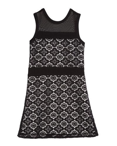 The Liz Lace Sleeveless Dress, Size S-XL