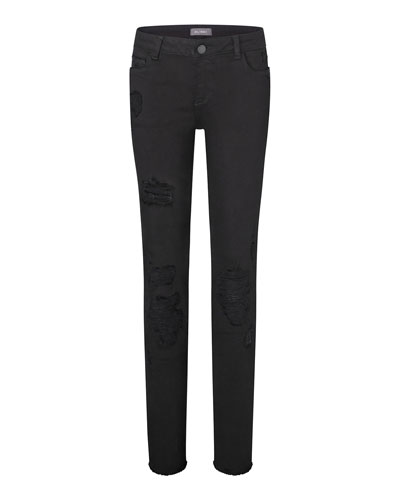 Girls' Chloe Nightstar Distressed Skinny Jeans, Size Youth 7-16