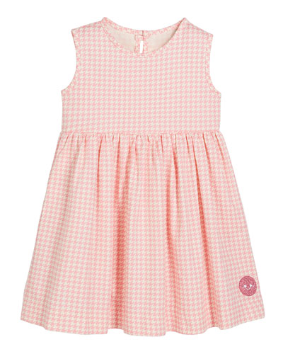 Houndstooth Print Sleeveless Dress, Size 0m-10
