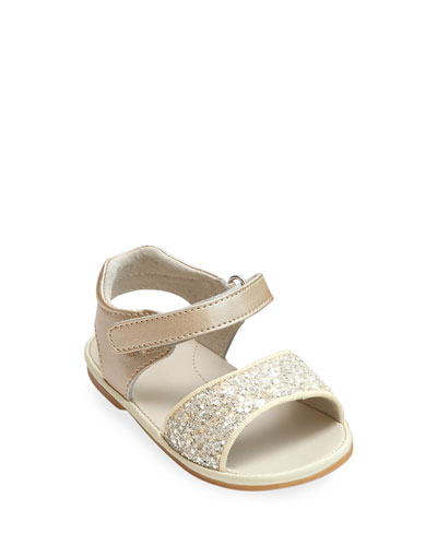 Elise Glittered Open-Toe Sandals, Baby/Toddler