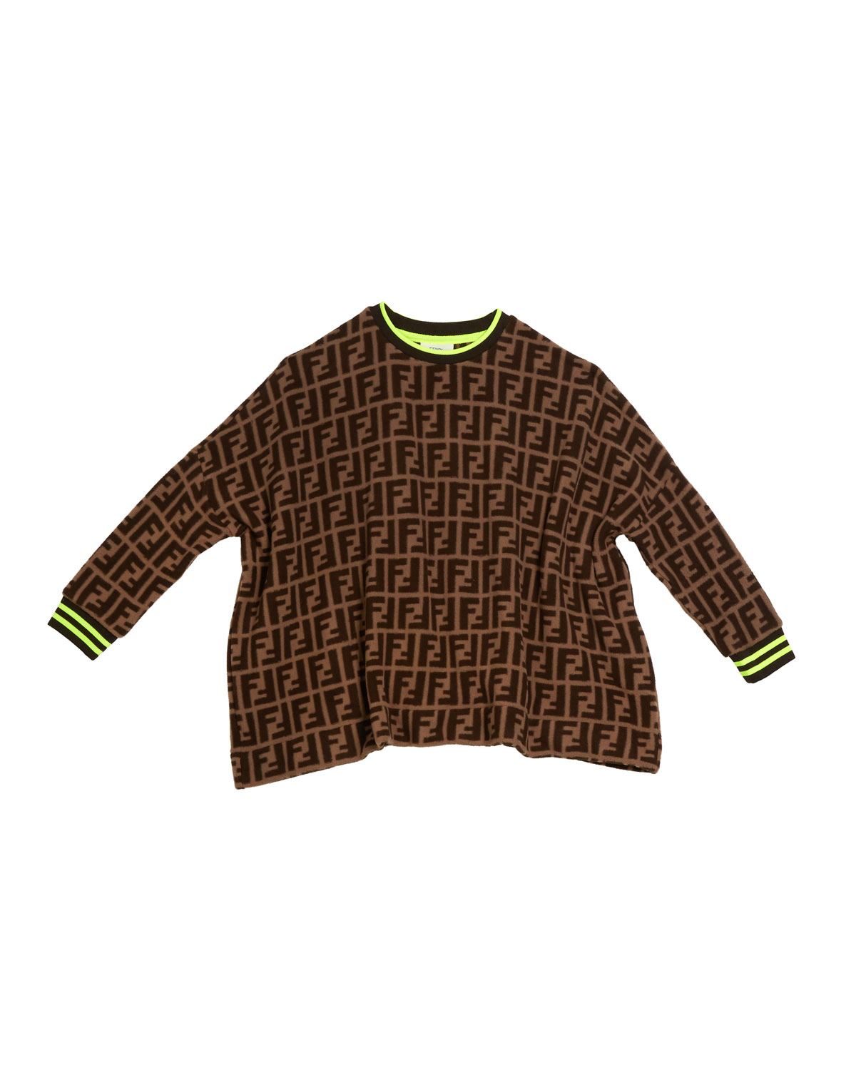 Fendi ALLOVER FF-PRINT SWEATER