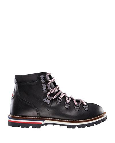Petite Peak Mini Leather Hiking Boots, Toddler/Kids