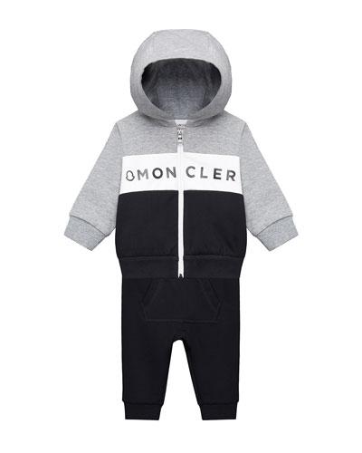 Zip-Up Hoodie w/ Matching Sweatpants, Size 12M-3