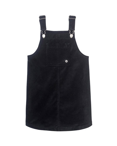Girl's Penelope Pinafore Dress, Size S-L